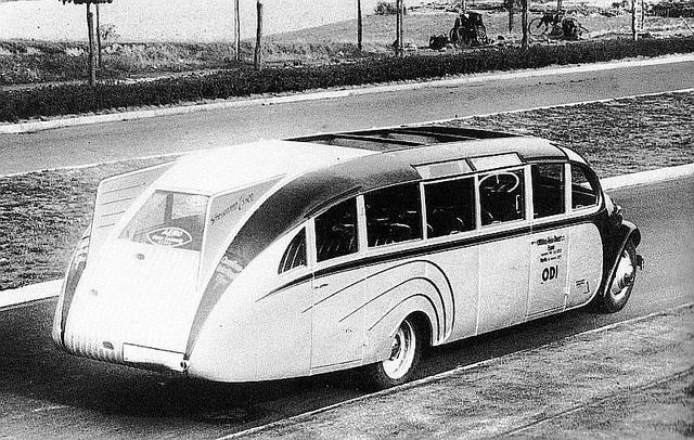 1935 Opel Blitz omnibus with a bodywork by Ludewig Bros., Essen